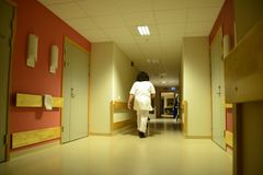 Nocy pielęgniarka Obrazy Royalty Free