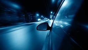 Nocy przejażdżka zdjęcie wideo