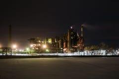 nocy przemysłowa roślinnych Zdjęcie Royalty Free