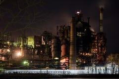 nocy przemysłowa roślinnych Zdjęcia Royalty Free