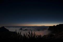 Nocy scena na Tenerife Obraz Royalty Free