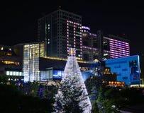 Nocy scena Tokio, Japonia zdjęcie royalty free