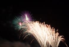 Nocy sceny świętowanie Obraz Royalty Free