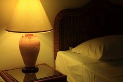 Nocy sypialnia Obraz Royalty Free