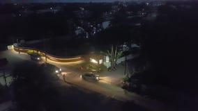 Nocy ulicy w Południowym India zdjęcie wideo