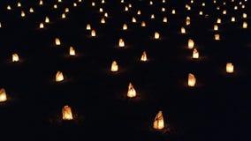 nocy świece Zdjęcia Stock