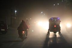 Nocy zimy kultura Zdjęcia Stock