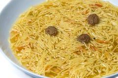 Noddle soup Stock Image