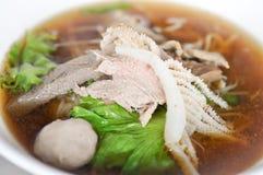 Noddle , soup Stock Photos