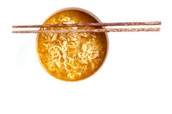Noddles and chilli Royalty Free Stock Images