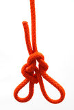 Node with colored. Red ropes Stock Images