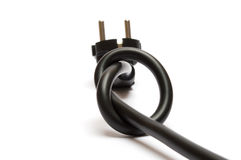 Node at power plug Stock Images