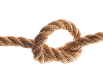 Node on the rope Stock Photos