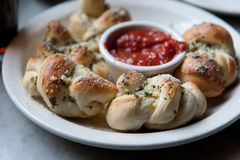Nodi dell'aglio Fotografia Stock
