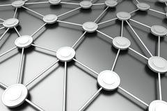 Nodi di rete illustrazione vettoriale