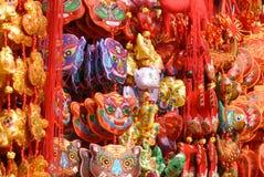 Nodi fortunati cinesi di Traditonal Fotografia Stock Libera da Diritti