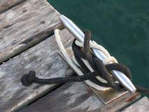 Nodi, morsetti e corde Fotografie Stock Libere da Diritti