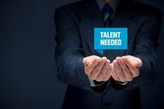nodig talent stock afbeeldingen