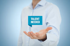 nodig talent royalty-vrije stock foto