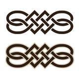 Nodo celtico Fotografia Stock