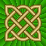 Nodo celtico illustrazione di stock