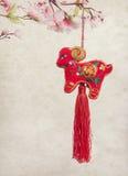 Nodo cinese della capra Fotografia Stock Libera da Diritti