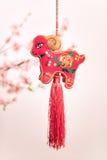 Nodo cinese della capra Immagine Stock