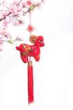 Nodo cinese della capra Fotografia Stock