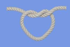 Nodo del cuore Fotografia Stock