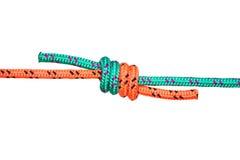 Nodo della corda Fotografie Stock