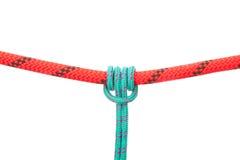 Nodo della corda Fotografie Stock Libere da Diritti