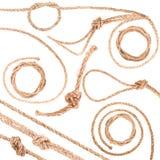 Nodo della corda Fotografia Stock