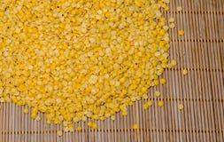 Nodo delle lenticchie gialle Immagine Stock Libera da Diritti