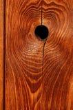 Nodo di legno Fotografia Stock