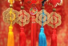Nodo fortunato per il nuovo anno cinese immagine stock libera da diritti