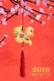 Nodo tradizionale cinese Fotografie Stock