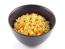 noedel en groente Stock Foto