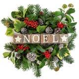 Noel装饰 免版税库存图片
