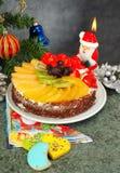noel торта стоковая фотография