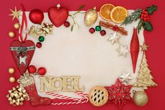 Noel Abstract Background Royaltyfria Bilder