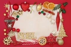 Noel abstrakta tło obrazy royalty free