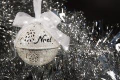 Noel bożych narodzeń ornament Zdjęcia Royalty Free