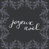 Noel calligraphy. Stock Photo