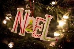 Noel ceramico Fotografia Stock