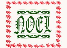Noel  Christmas Illustration Royalty Free Stock Photography