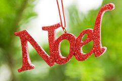 Noel Christmas ornament Royalty Free Stock Photos