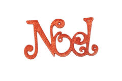 Noel Christmas sign Royalty Free Stock Photography