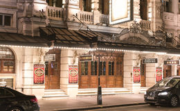 Noel Coward Theatre London    - London England  UK. Noel Coward Theatre London    - London England - United Kingdom Royalty Free Stock Image