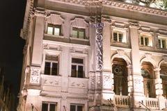 Noel Coward Theatre London    - London England  UK. Noel Coward Theatre London    - London England - United Kingdom Royalty Free Stock Images
