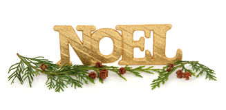 Noel Decoration Royalty Free Stock Photography